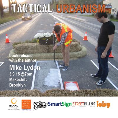 Tactical urbanism flyer